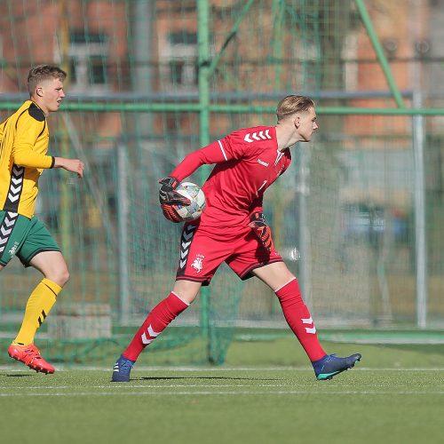 """Futbolo kontrolinės: """"Stumbras"""" – Lietuva U21 0:2  © Evaldo Šemioto nuotr."""