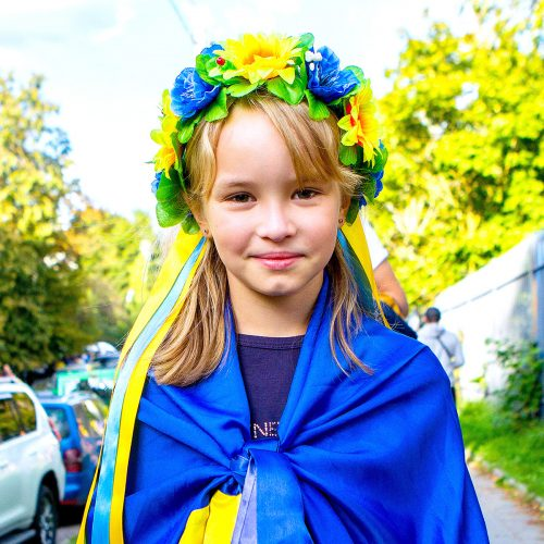 Vilnių užplūdo Ukrainos futbolo fanai