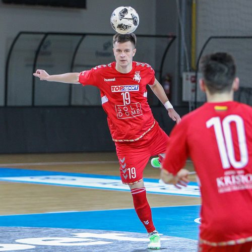 """Futsalo A lyga: """"Vytis"""" – """"Vip"""" 6:1  © Evaldo Šemioto nuotr."""