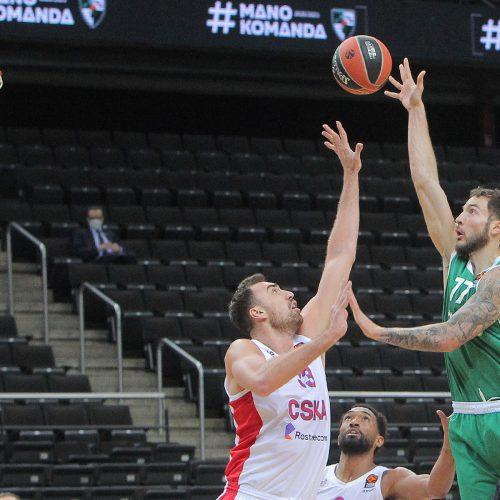 """Eurolyga: """"Žalgiris"""" – CSKA 78:87"""
