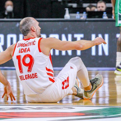 "Eurolyga: ""Žalgiris"" – ""Crvena zvezda"" 75:62  © Evaldo Šemioto nuotr."