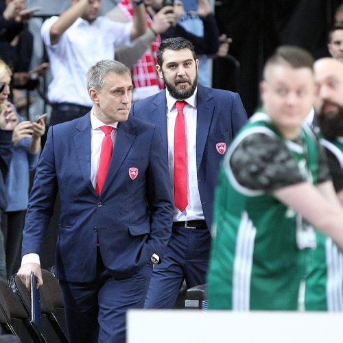 """Eurolyga: """"Žalgiris"""" – """"Olympiakos"""" 83:75  © Evaldo Šemioto nuotr."""
