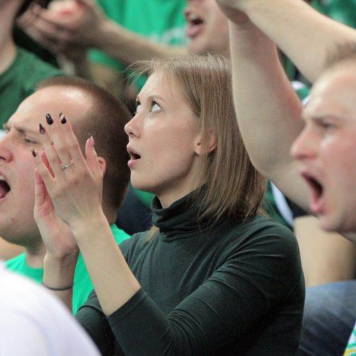 """Eurolyga: """"Žalgiris"""" – """"Darussafaka"""" 94:67  © Evaldo Šemioto nuotr."""