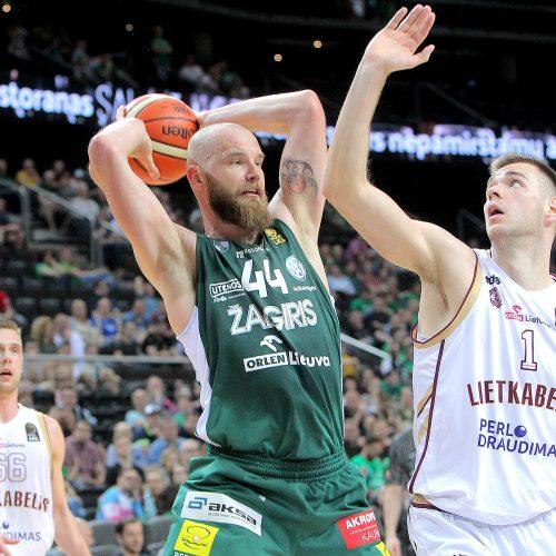 """LKL pusfinalis: """"Žalgiris"""" – """"Lietkabelis"""" 78:58  © Evaldo Šemioto nuotr."""
