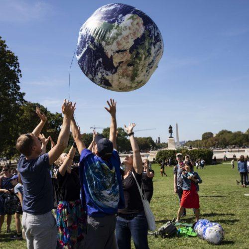 Moksleivių protestai prieš klimato pokyčius