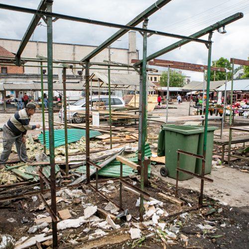 Pokyčiai Kauno Stoties turguje  © Vilmanto Raupelio nuotr.