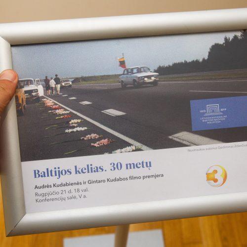 """Filmo """"Baltijos kelias. 30 metų"""" premjera  © I. Gelūno/Fotobanko nuotr."""