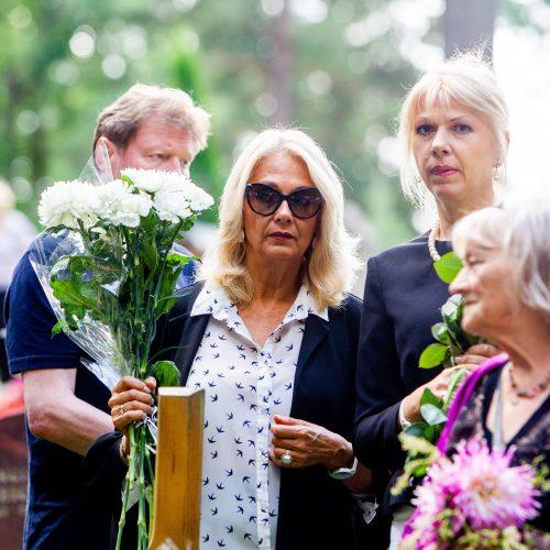 Aktoriaus R. Karvelio laidotuvės  © I. Gelūno/Fotobanko nuotr.