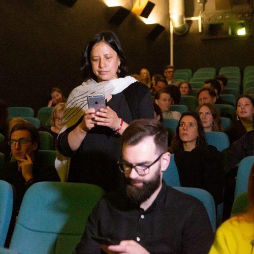 Vilniaus dokumentinių filmų festivalio atidarymas  © G. Skaraitienės / Fotobanko nuotr.