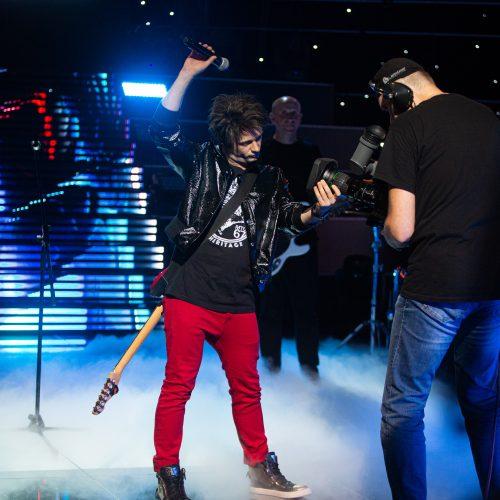 """""""Muzikinės kaukės"""" filmavimas  © G. Skaraitienės / Fotobanko nuotr."""