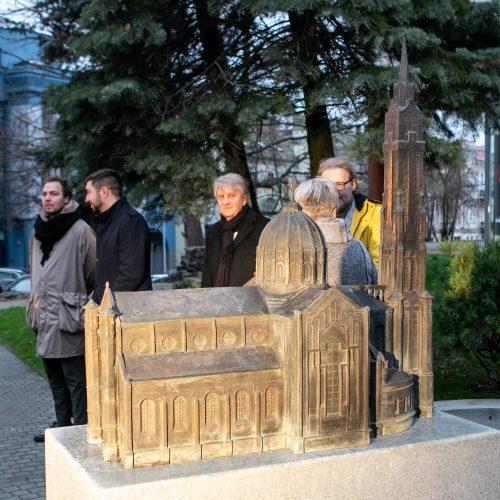 Atminimo ženklo A. Vivulskiui atidengimas  © P. Peleckio / Fotobanko nuotr.
