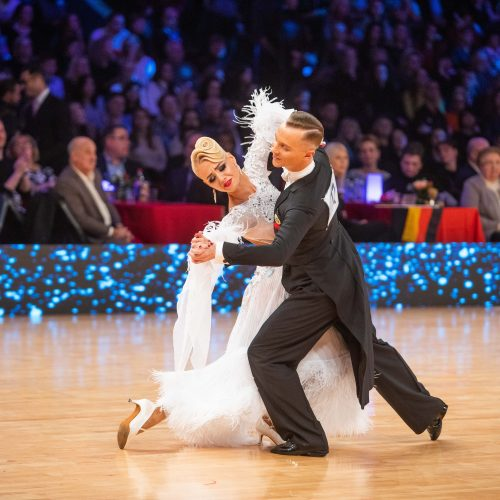 Pasaulio standartinių sportinių šokių čempionatas  © I. Gelūno / Fotobanko nuotr.