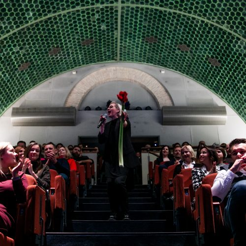 A. Bružas scenoje pažymėjo savo jubiliejų  © I. Gelūno / Fotobanko nuotr.