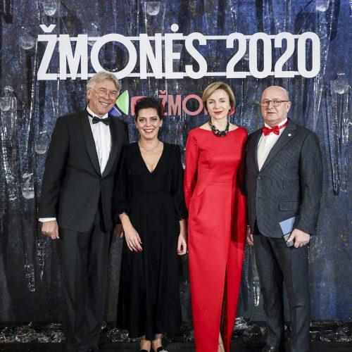 """Apdovanojimų """"Žmonės 2020"""" svečiai  © T. Biliūno / Fotobanko nuotr."""