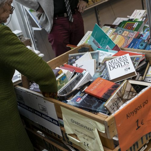 Antra 21-osios Vilniaus knygų mugės diena  © I. Gelūno / Fotobanko nuotr.