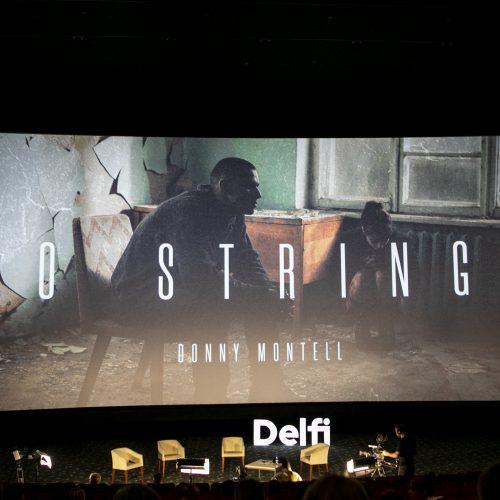 """D. Montvydo klipo """"No strings"""" premjera  © P. Peleckio / Fotobanko nuotr."""