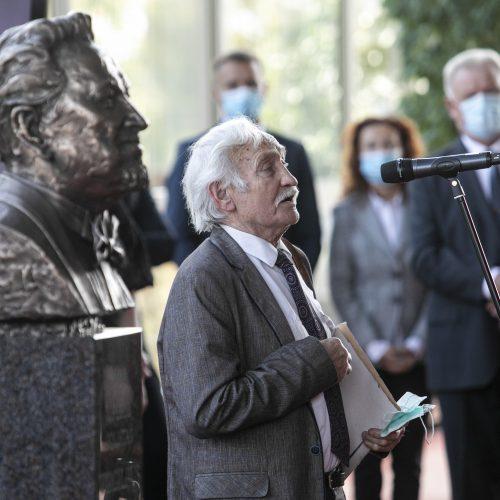 V. Noreikos memorialinio biusto atidengimas  © P. Peleckio / Fotobanko nuotr.