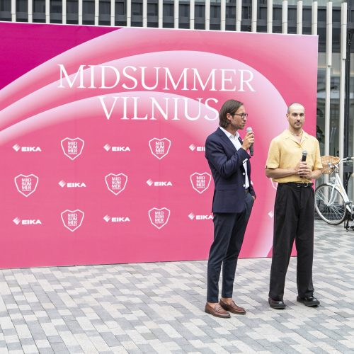 """Festivalio """"Midsummer Vilnius"""" pristatymas  © P. Peleckio / Fotobanko nuotr."""