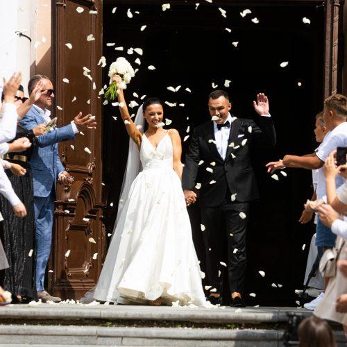 Kaskadininko D. Petrikausko vestuvės
