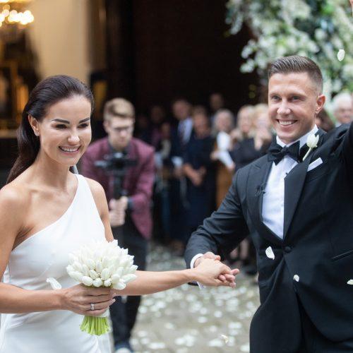 I. Burlinskaitės ir L. Vaisietos vestuvės