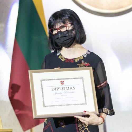 Dvylikai kūrėjų įteiktos Vyriausybės kultūros ir meno premijos
