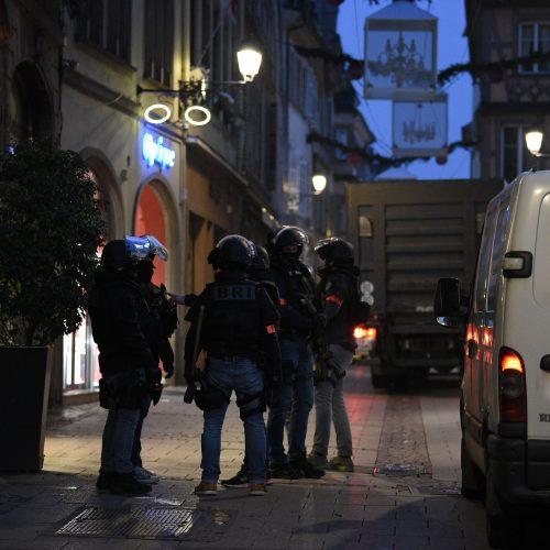 Kruvinas išpuolis Strasbūre  © Scanpix nuotr.