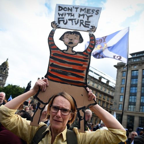 Protestas Jungtinėje Karalystėje
