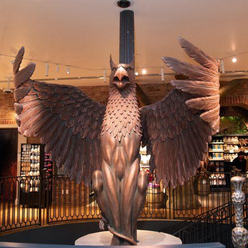 Niujorke atidaryta didžiulė parduotuvė Hario Poterio gerbėjams