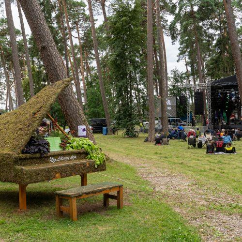 """XX-asis dainuojamosios poezijos festivalis """"Akacijų alėja""""   © Justinos Lasauskaitės nuotr."""