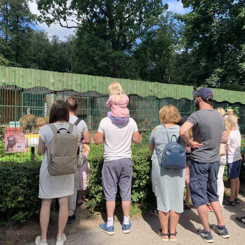 Lietuvos zoologijos sodas atšventė 82-ąjį gimtadienį  © Deimantės Buslevičiūtės nuotr.