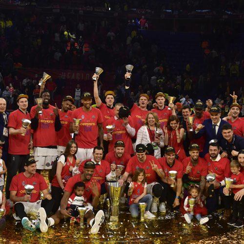 CSKA – stipriausia Eurolygoje  © Scanpix nuotr.