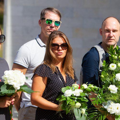 Saksofonininko R. Brazaičio laidotuvės  © I. Gelūno / Fotobanko nuotr.