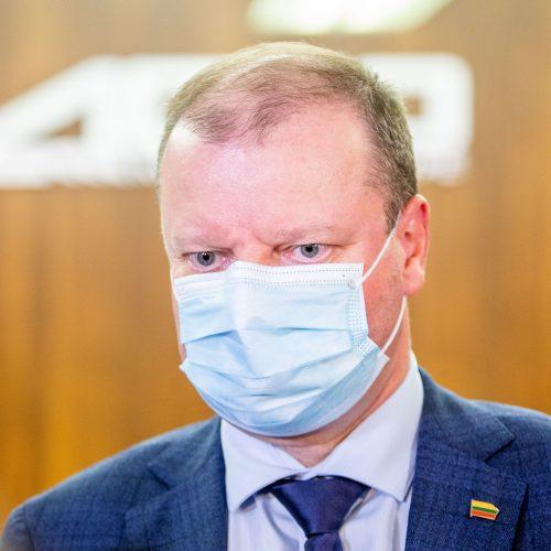 Lietuvos valstiečių ir žaliųjų sąjungos būstinė laukia rinkimų rezultatų  © I. Gelūno / Fotobanko nuotr.