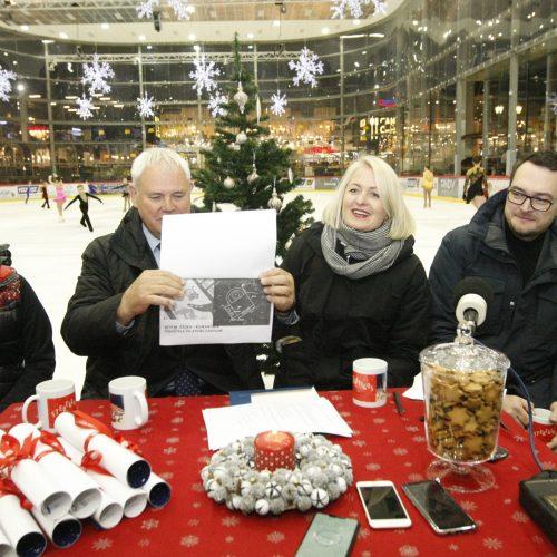 Kalėdinių planų aptarimas Klaipėdoje
