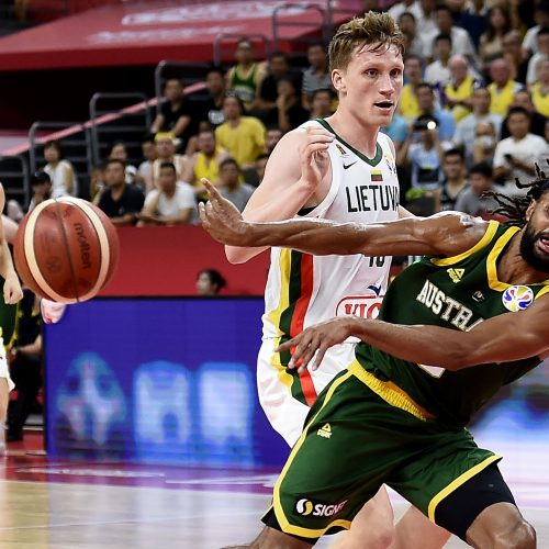 Krepšinis: Lietuva – Australija  © Scanpix nuotr.