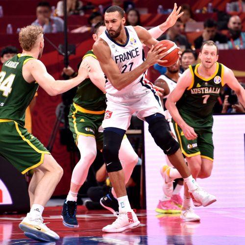 Pasaulio krepšinio čempionatas: Prancūzija – Australija