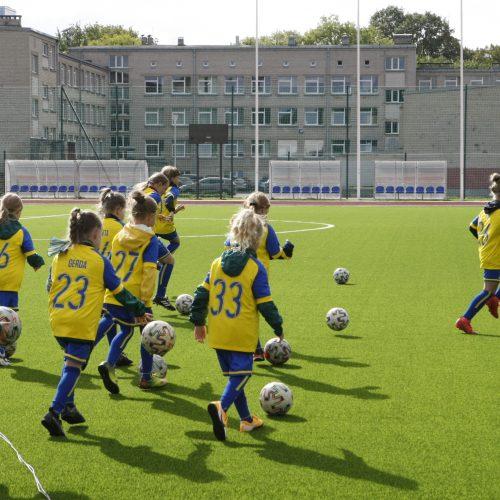 Klaipėdoje duris atvėrė atnaujinta Futbolo mokykla