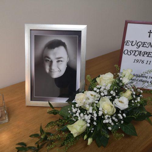 Klaipėdoje – atsisveikinimas su anapilin iškeliavusiu E. Ostapenko  © Vytauto Liaudanskio nuotr.