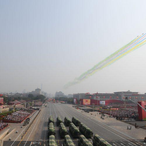 Kinija mini 70-ąsias savo įkūrimo metines  © Scanpix nuotr.