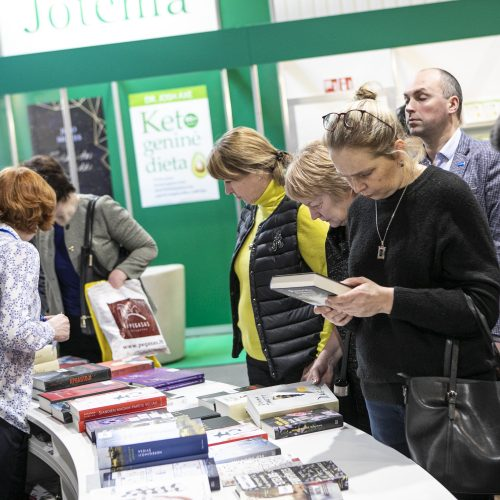 Prasideda 21-oji Vilniaus knygų mugė  © P. Peleckio ir I. Gelūno / Fotobanko nuotr.
