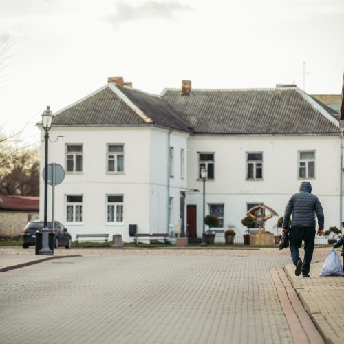 Karantinas Kėdainiuose  © I. Gelūno / Fotobanko nuotr.