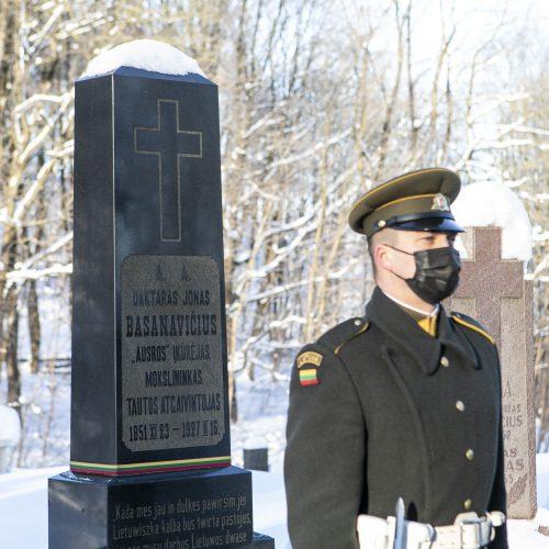 Nepriklausomybės Akto signatarų atminimo pagerbimas  © P. Peleckio / Fotobanko nuotr.