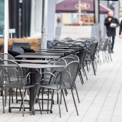 Karantinas laisvėja: atsidarė barai, kavinės, restoranai  © I. Gelūno / Fotobanko nuotr.