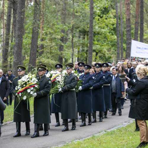 Holokausto pradžios Lietuvoje 80-ųjų metinių minėjimas
