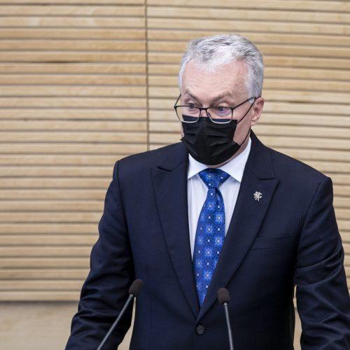 Prezidento G. Nausėdos antrasis metinis pranešimas