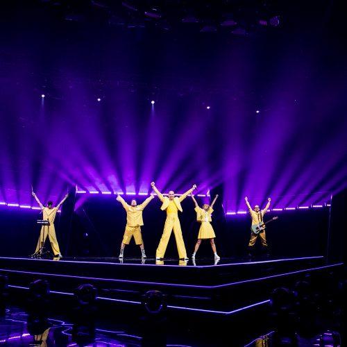 """Nacionalinės """"Eurovizijos"""" atrankos finalas"""