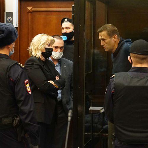 Maskvos teisme sprendžiama dėl A. Navalno laisvės atėmimo bausmės