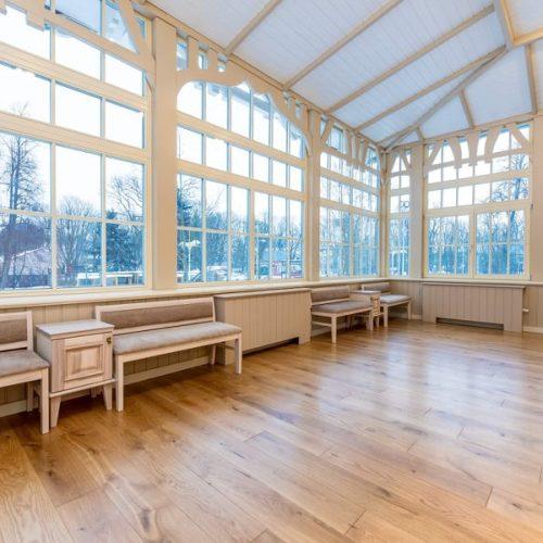 Atgimusio Palangos kurhauzo reprezentacine salė ir veranda  © Aldo Kazlausko nuotr.