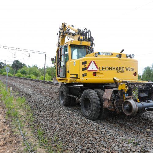 """Kaune pradedami """"Rail Baltica"""" tiesimo darbai  © T. Biliūno/Fotobanko nuotr."""