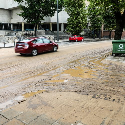 Kauno gatvės po lietaus  © T. Biliūno/Fotobanko nuotr.
